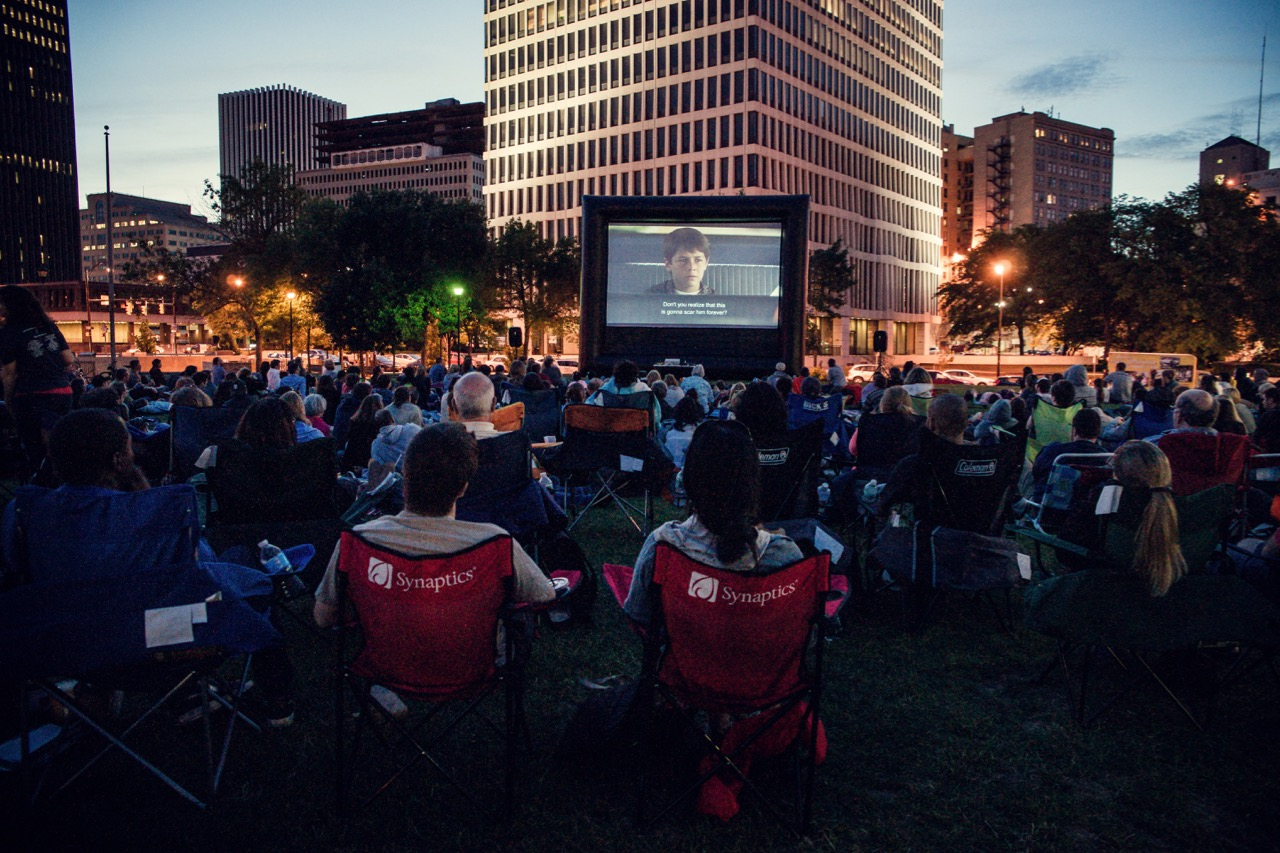 Movies with a Downtown View